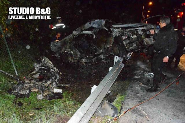 Συγκλονισμένη η Αργολίδα από την τραγωδία στην Ε.Ο. Ναυπλίου Μυκηνών - 24χρονη η απανθρακωμένη οδηγός