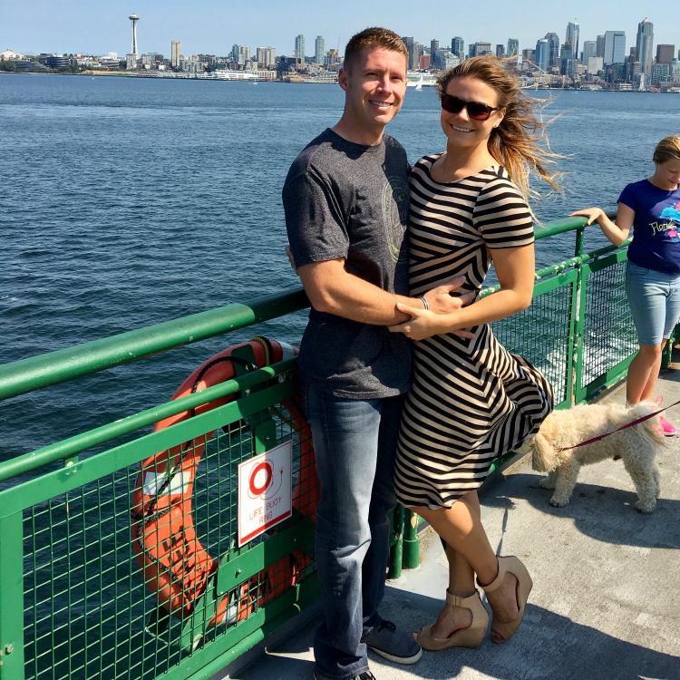 Bainbridge Island Ferry, Seattle Washington, Bainbridge Ferry, Downtown Seattle