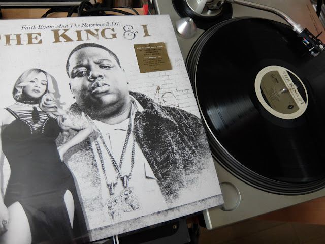 THE KING & I / Faith Evans and the Notorious B.I.G.のレコードです。