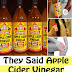 They Said Apple Cider Vinegar Is Great For You, But This Is What They Didn't Told You