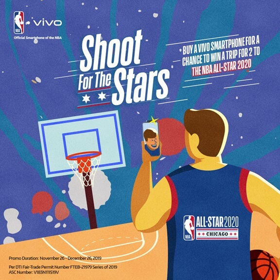 Heads Up, NBA Fans! Vivo Announces Shoot for the Stars Promo