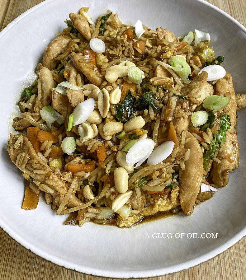 Chicken Stir-fry in a Teppanyaki-style sauce