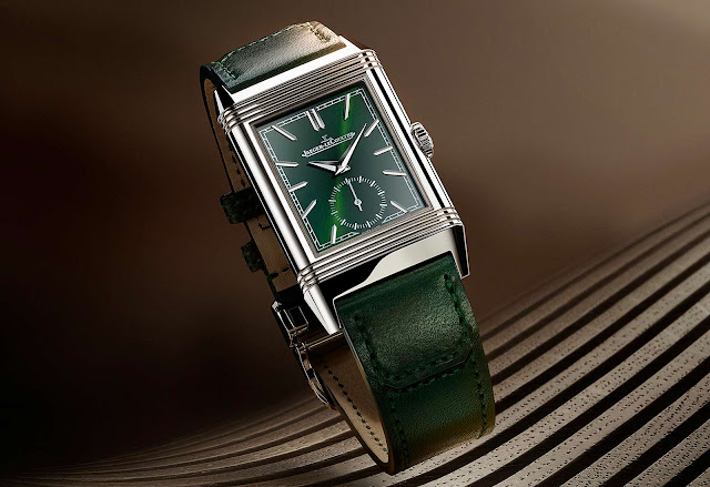 Jaeger-LeCoultre Reverso Tribute Small Seconds in Green