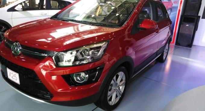 Sagar shows BAIC vehicles on PAPS 2020