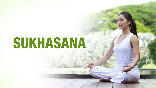 Bài tập yoga đơn giản Sukhasana ( Tư thế ngồi thiền )
