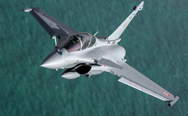 First photo of Airborne Rafale Jet RB-002, which India purchased from France.