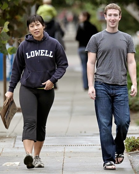 facebook founder wife