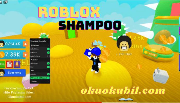 Roblox Shampoo, Şampuan Simulator Script Oto Tıklama Hilesi İndir
