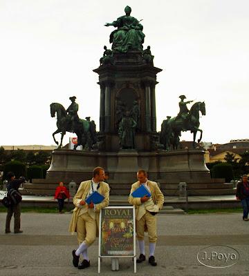Plaza de María Teresa de Viena