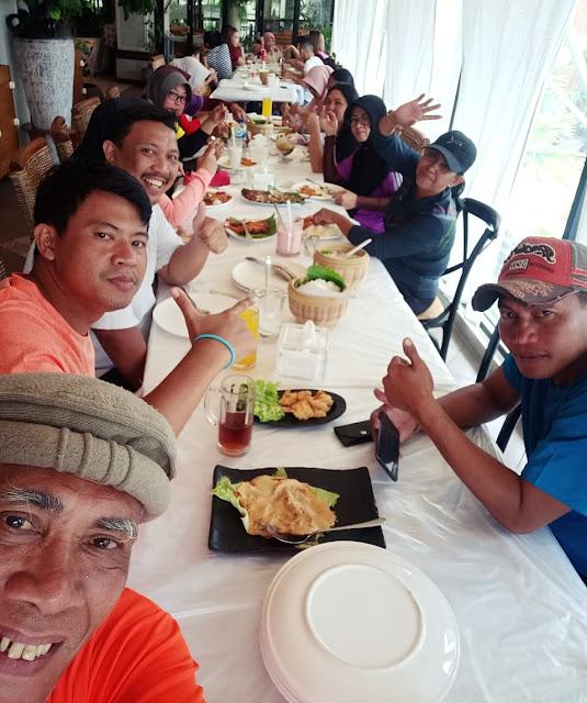 Pornas Korpri: Puslatda Tim Tenis Jatim Diakhiri Pesta Seafood