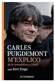 Portada M'Explico Carles Puigdemont de la investidura a exilio