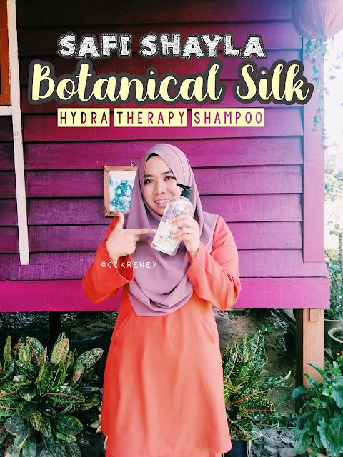 Safi Shayla Botanical Silk Shampoo Micellar Silicone Free keluaran terbaru Safi Malaysia
