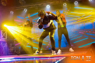 Mr Kendy Performed GAGA, NO WHERE, SOWETO and GBA GBE OSHI at Ignite Music Competition1