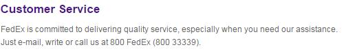 fedex express customer service number dubai abu dhabi