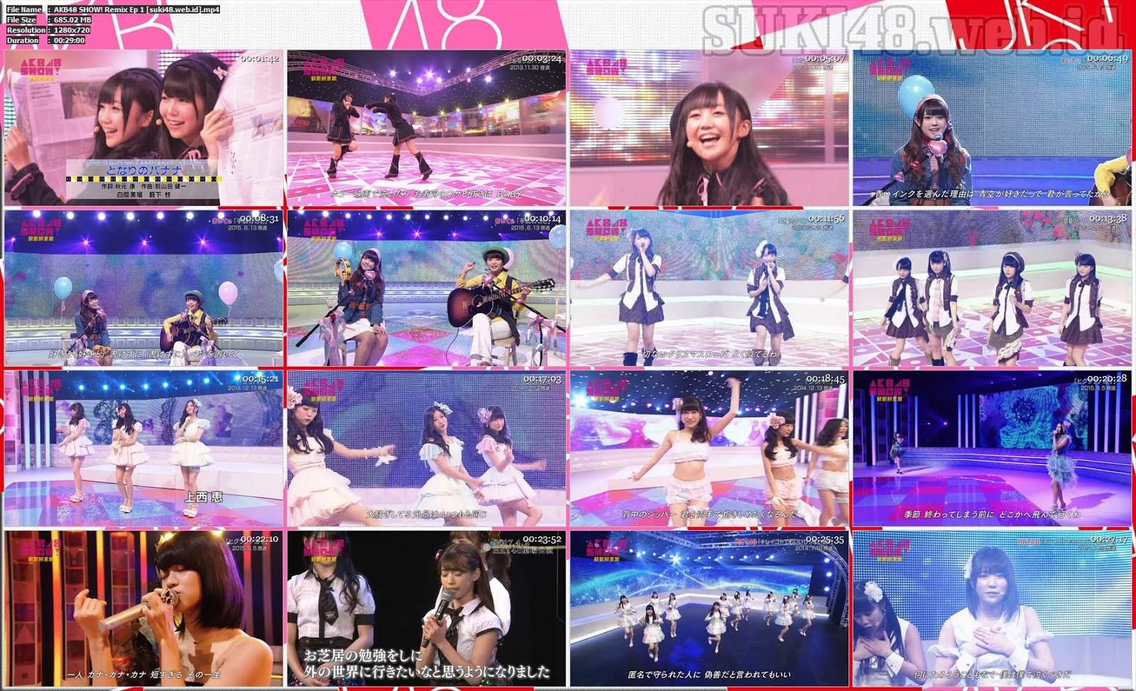 AKB48 SHOW! Remix Ep 1 – SUKI48