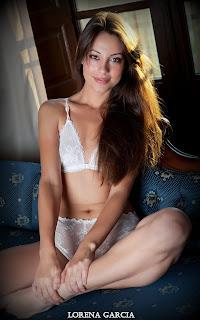 Casual Bottomless Girls - Sexy Naked Girl Lorena Garcia - 1