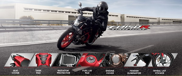 Harga Aksesoris Honda CB150R