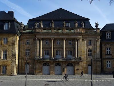 Κτίριο σε μπαρόκ ρυθμό από το Μπαϊρόιτ της Γερμανίας / Baroque style building in Bayreuth