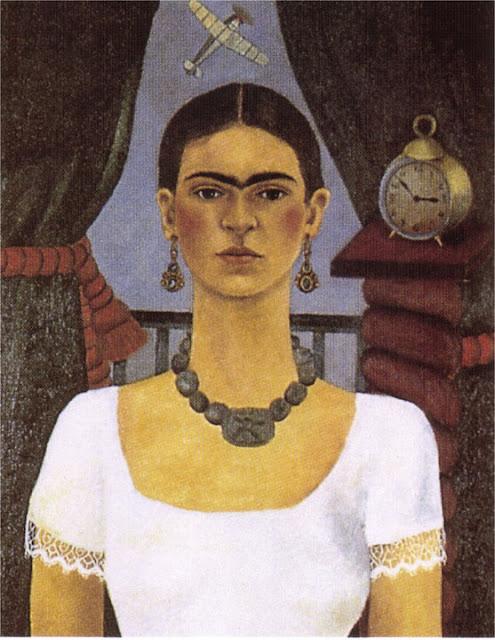 Фрида Кало - Автопортрет - Время летит. 1929