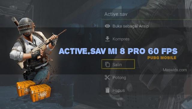 File active.sav mi 8 pro