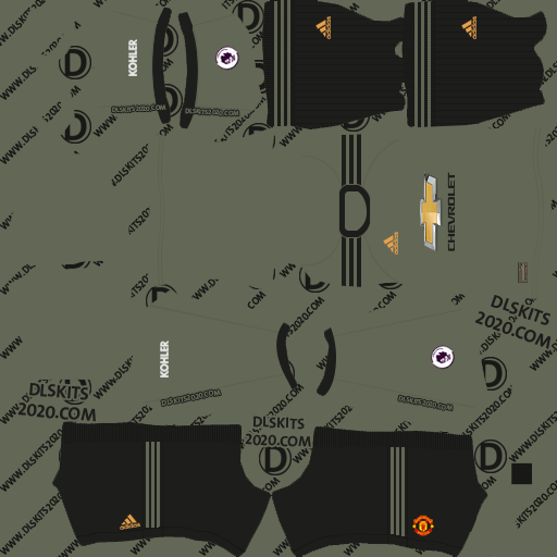 Manchester United 2020-2021 Kit by adidas kits dream league soccer 2020 (away)