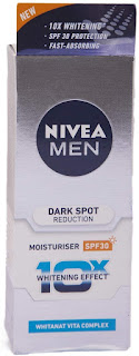 Nivea Men Dark Spot Reduction Moisturiser(best face cream for men)