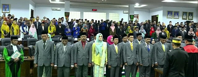Anggota DPRD Periode 2019-2024 Soppeng Resmi Menjabat