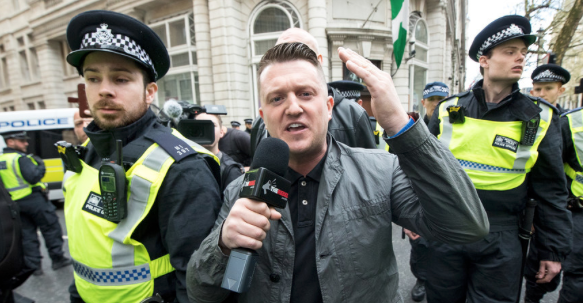 Tommy Robinson arrested outside Leeds Crown Court
