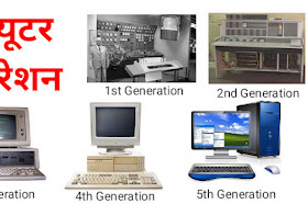 How Many Computer Generation in hindi   कंप्यूटर की जनरेशन को विस्तार से समझाइए?