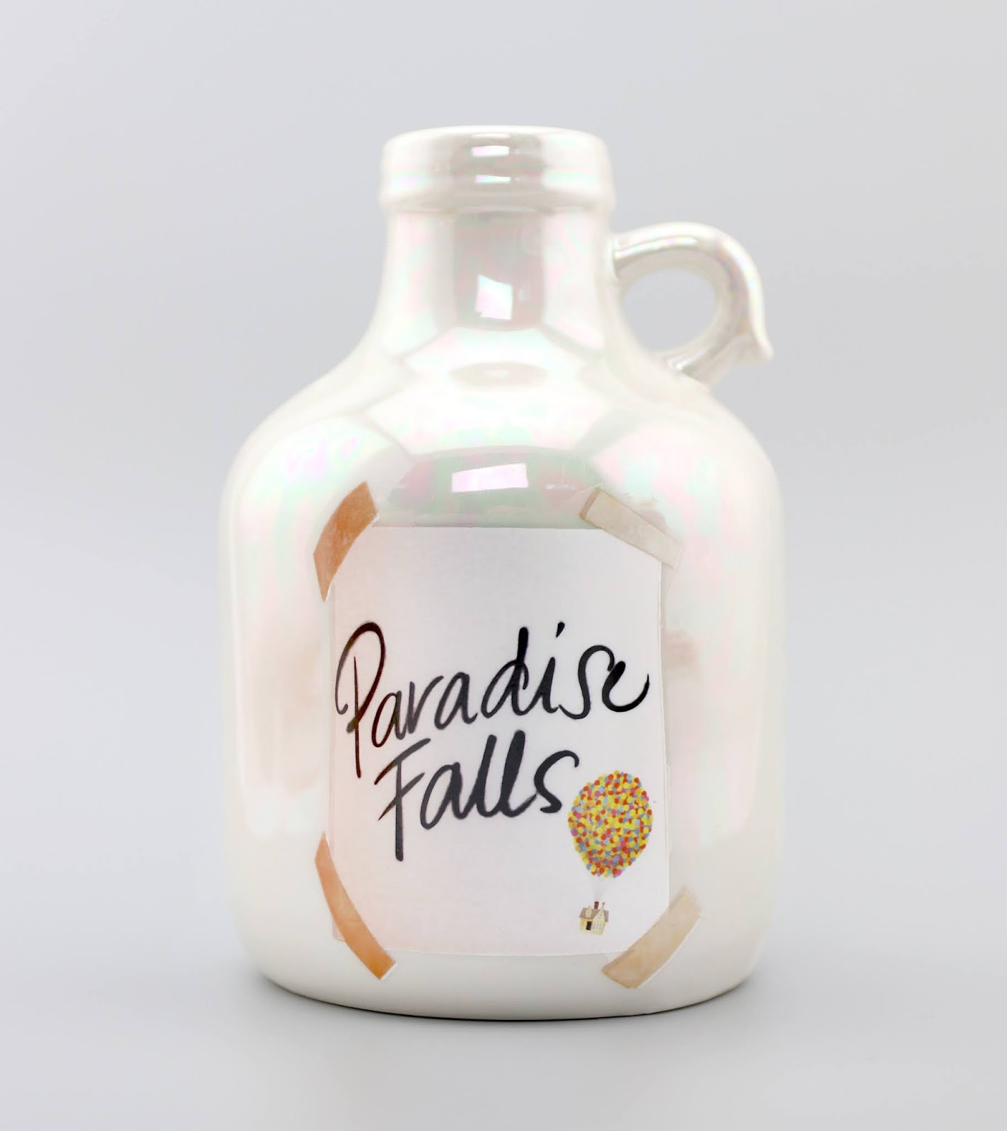 Pixar Up Paradise Falls Jug Ceramic Bank
