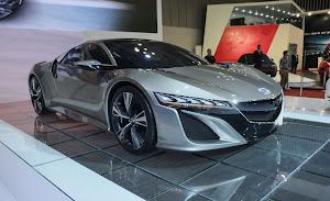 V6 Motora Sahip Honda NSX Konsept HD Resimleri