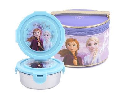 DISNEY Store LUNCH Box ANNA and ELSA Tote FROZEN Princess School 2016 NWT