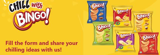 Chill With Bingo Contest 2021 : Share Ideas & Win Rewards