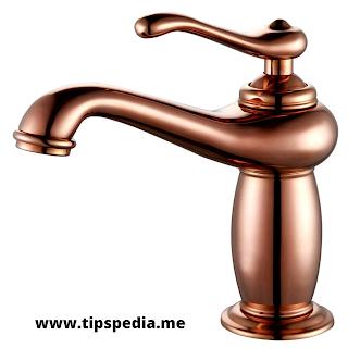 rose gold bathroom faucet