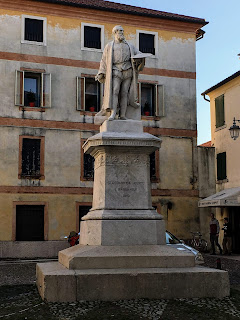 The statue of Jacopo Bassano in the town from which he took his name