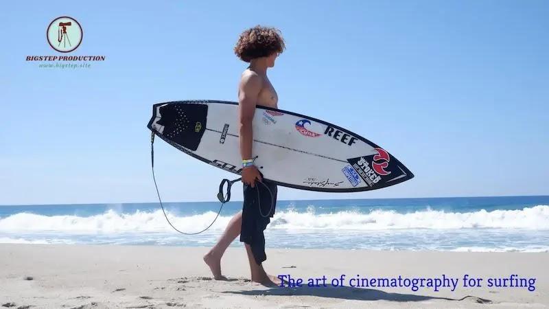 فن التصوير السينمائي لركوب الأمواج
