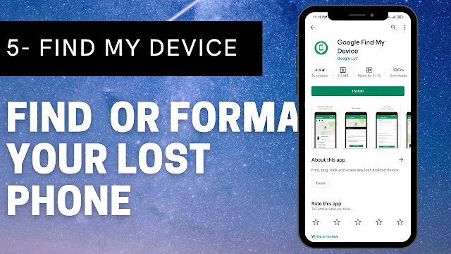 Find my Device - Find You lost Phone