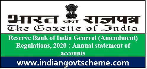 Annual statement of accounts