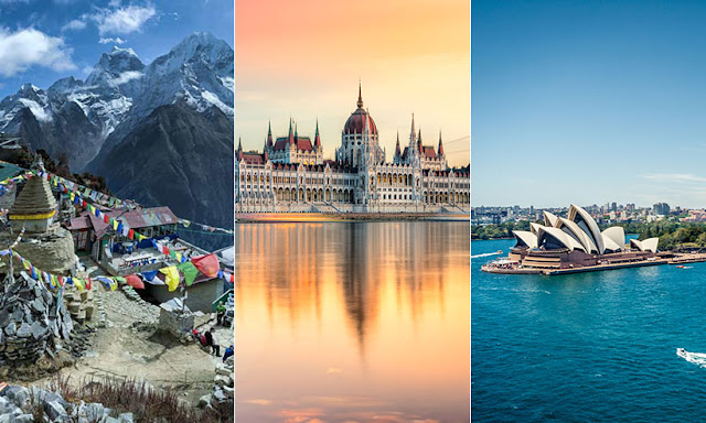 Top 10 Tourist Destinations in The World You'd Better to Visit