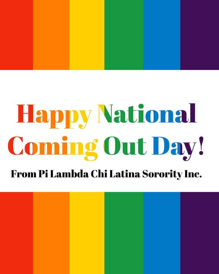 National Coming Out Day Wishes For Facebook