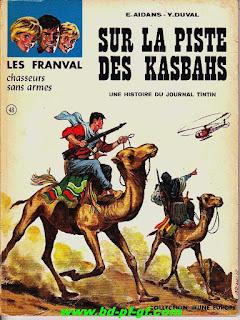 Les Franval, sur la piste des Kasbahs, tome 48, année 1967
