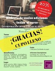 CURSO Incorporación de las TIC en el salón de clase | Imparte: Nadia Contreras