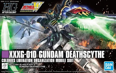 HGAC 1/144 Gundam Deathscythe Official Images