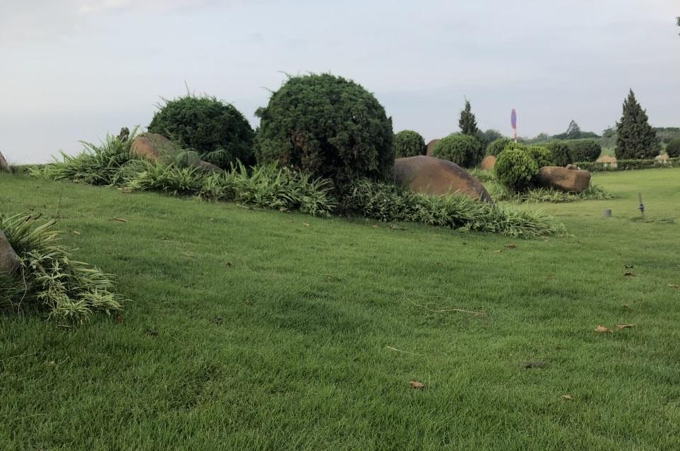 Không gian bãi tập golf tại khu đô thị Him Lam Green Park