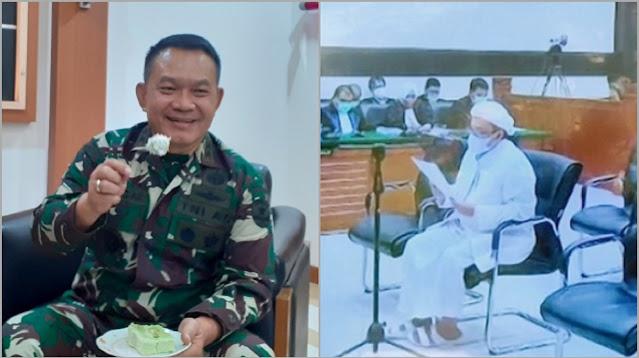 HRS Singgung Pangdam Jaya: Mungkin Dudung Tak Bernyali di Papua Jadi Kelasnya Merangi Baliho