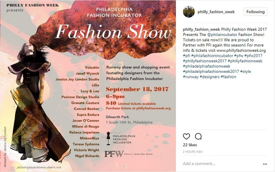 Philly Events Philly Fashion Week