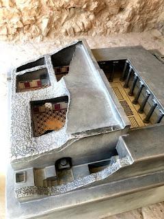 Roman Bathhouse replica in Masada Israel