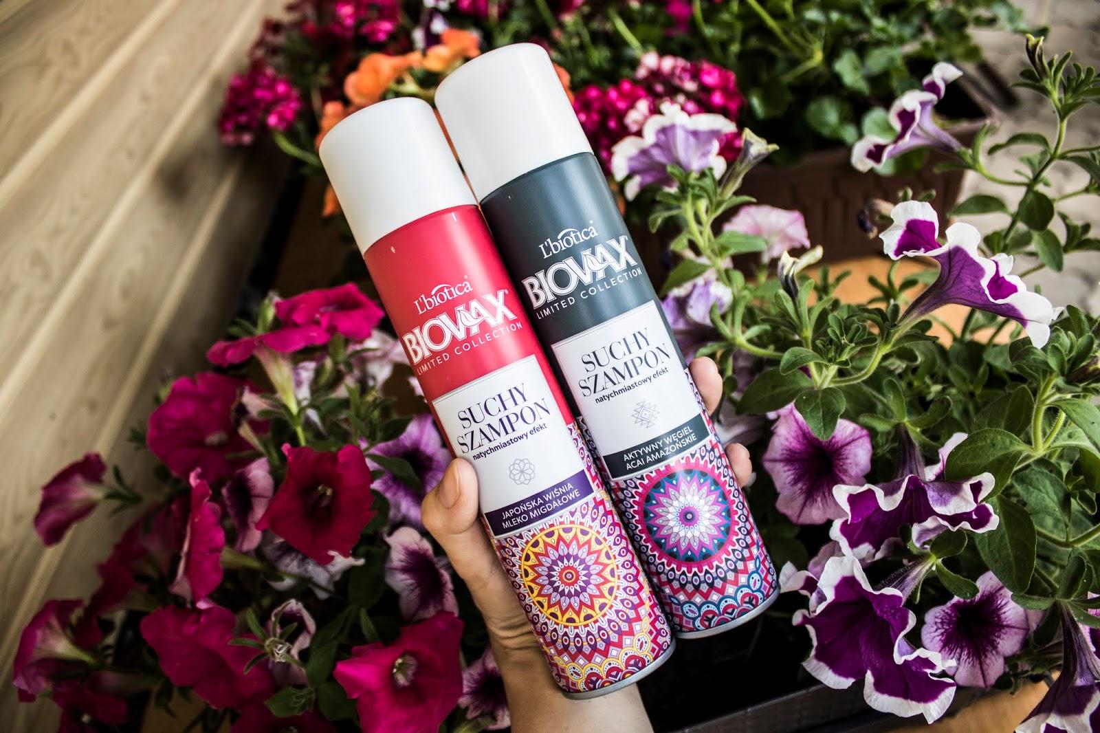 Suche szampony od l'biotica - piękne włosy latem