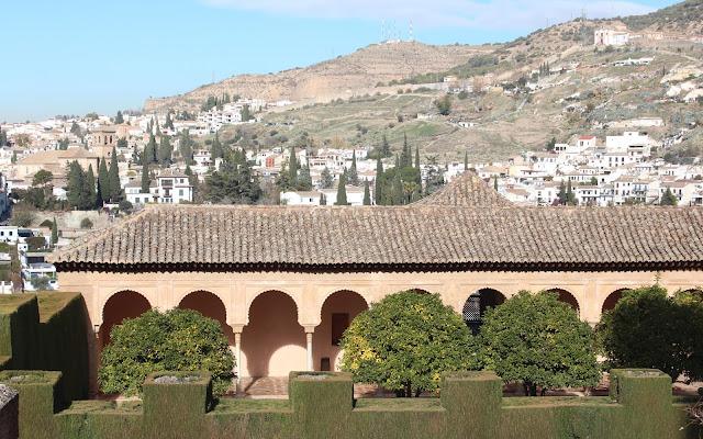 Vistas desde el Parador de Granada