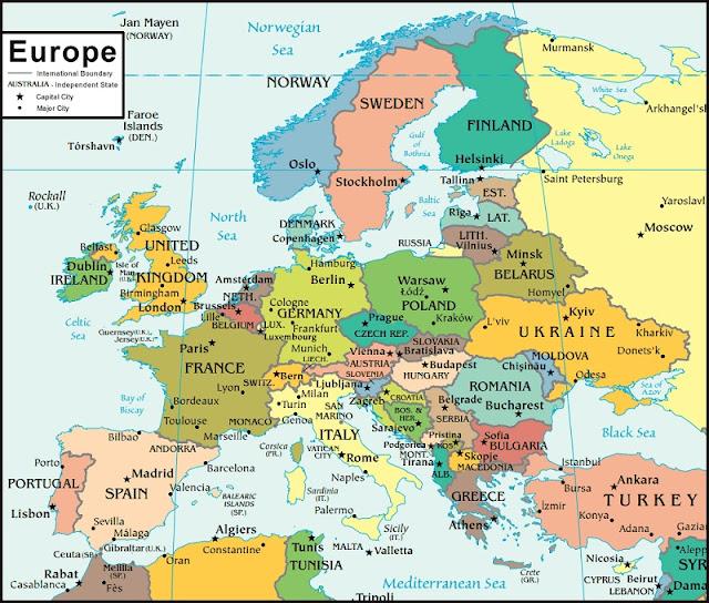 Fatti sull'Europa che probabilmente non hai ancora sentito